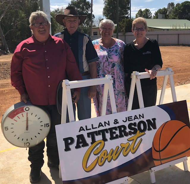 Allan And Jean Patterson Basketball Court